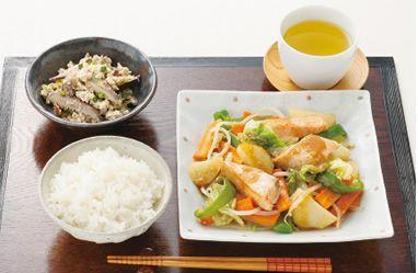 2014年46週号 鮭のちゃんちゃん焼き献立 | ビオサポ