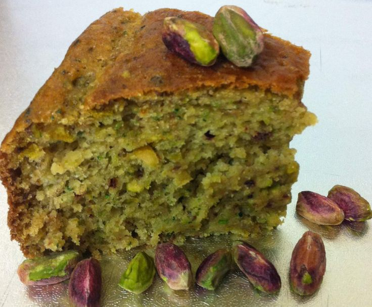 Recipe Zucchini Pistachio and Lime Cake by trudiethermos - Recipe of category Baking - sweet