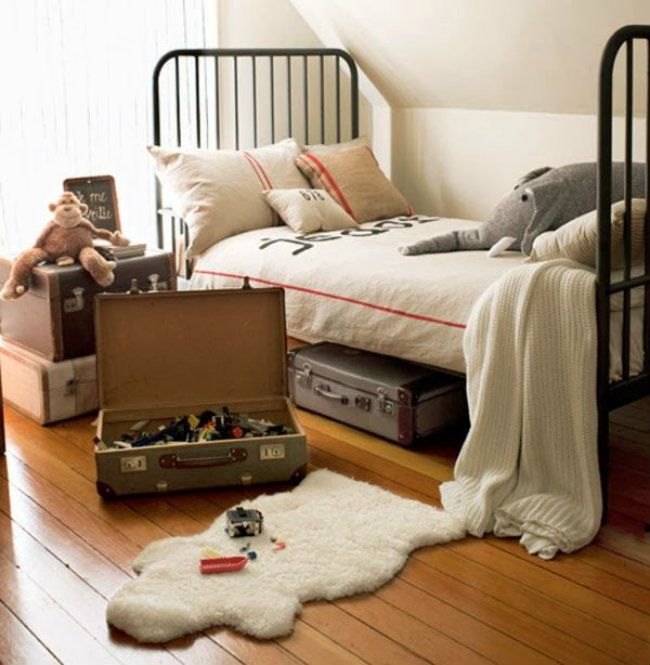 Vintage και ρετρό ιδέες για παιδικό δωμάτιο αγοριού!