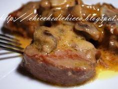 Filetto di maiale ai funghi champignon, Ricetta Petitchef