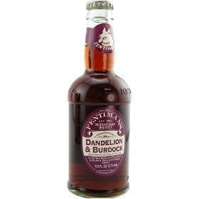 Fentiman's dandelion and burdock beverage