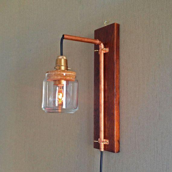 copper lamp | etsy
