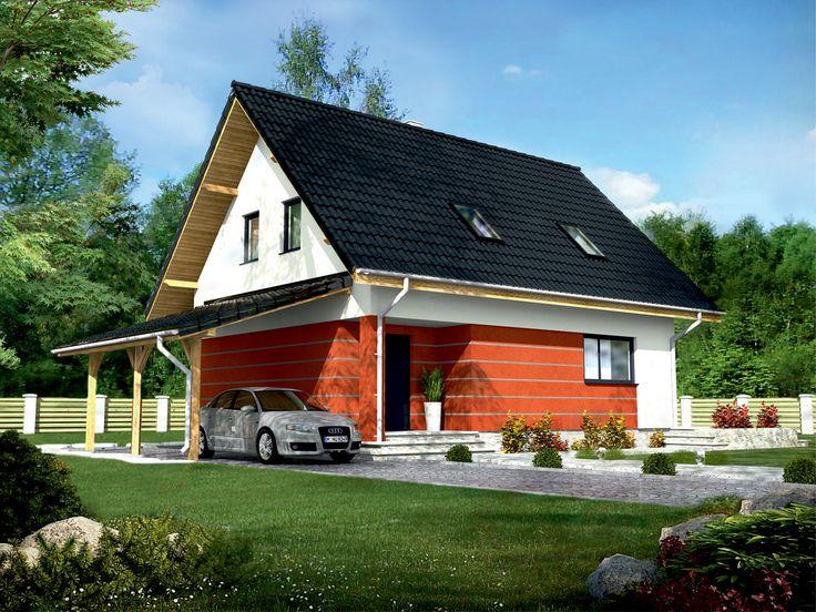 """Murator C201 """"Wszechstronny""""  jest idealnym rozwiązaniem dla inwestorów poszukujących gotowego budynku, w którym układ pomieszczeń będzie uzależniony od wymagań i potrzeb przyszłego właściciela."""