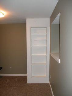 image result for secret door to hide sump pump and water softener in rh pinterest com mx