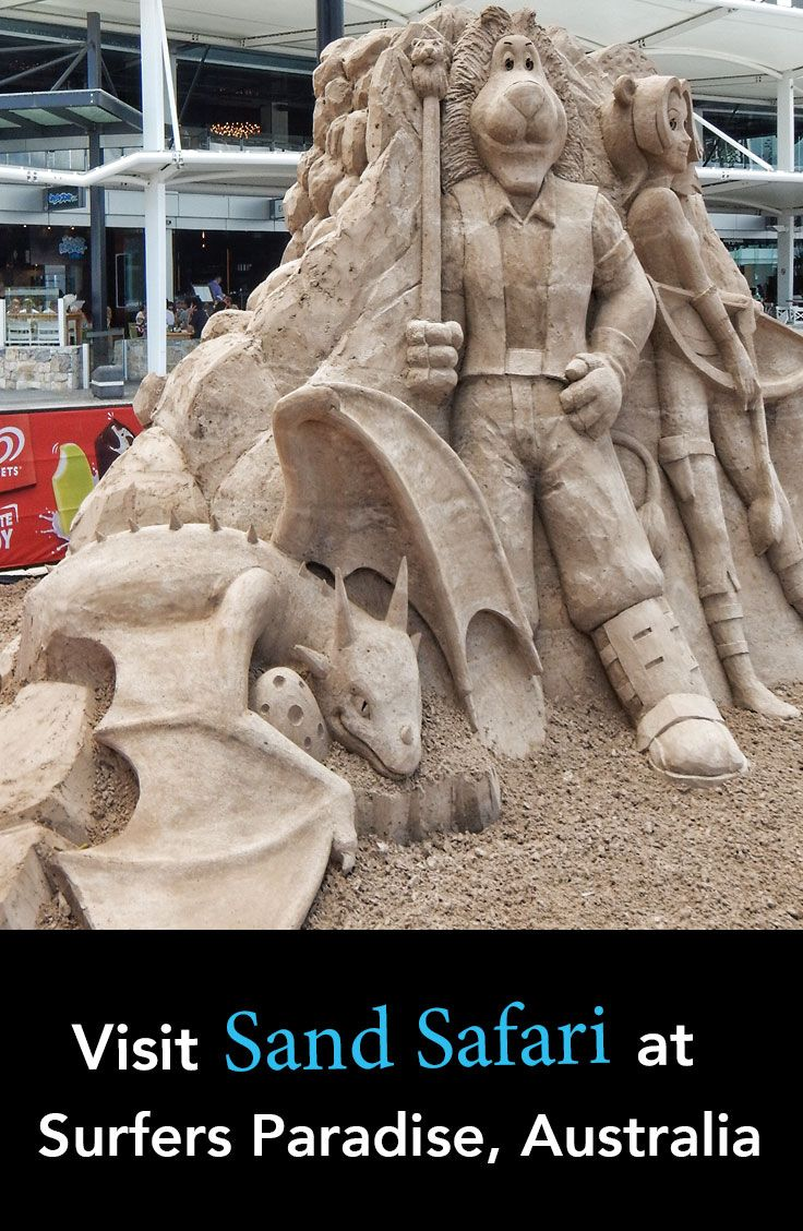 Sand castles on Surfers Paradise beach reach new heights in February with the Sand Safari sculpture competition. How many of the Disney Magical Friendships can you recognise?