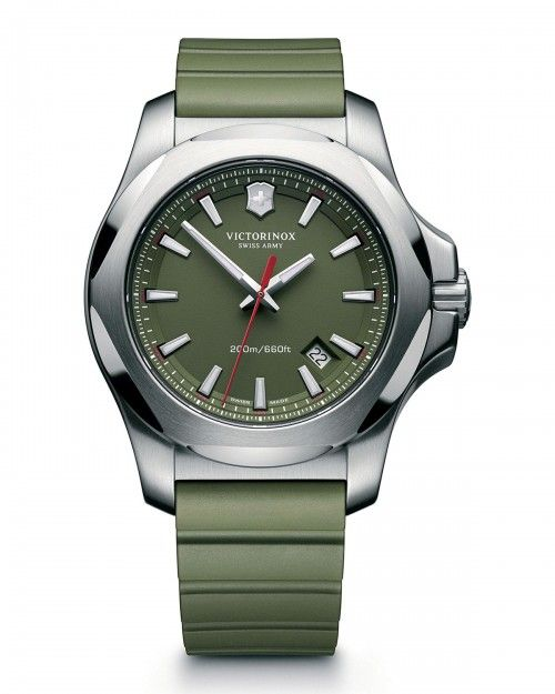 Victorinox+I+N+O+X+Rugged+Watch+with+Protective+Cover+Green+Swiss+Army+|+Jewelry+and+Accessory