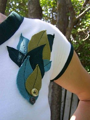 Made by Me. Shared with you.: Embellished Cap Sleeve T-shirt: Shared, Sewing, Cap Sleeves, T Shirts, Brooch Inspiration, Diy, Embellished Tee