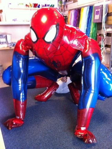 Spider-Man Party Ideas | Batman & Spiderman Balloons - Batman Birthday Party Supplies Bradford ...