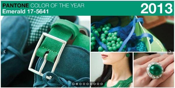 """Diseños en pasarela de Nanette Lepore, Tadashi Shoji y Zac Posen  Pantone resume en imágenes el sentimiento del verde esmeralda El """"verde esmeralda 17-5641″ de Pantone ha llegado para predominar en la escena de la moda del 2013, y como ya predicen algunos expertos, lo veremos en vestidos, faldas, pantalones, accesorios, abrigos… ¡Durante todo el año! Pero concentrémonos en el verano, que está cerca y debemos adquirir ¡ya! algunas prendas en este bello color. De la mano de Antonella Carvajal…"""