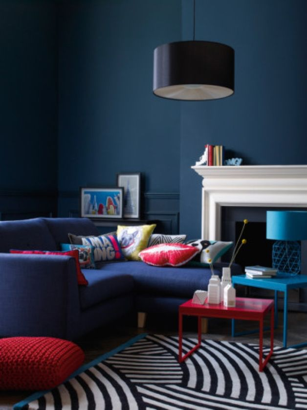 living room decorating ideas red and black%0A   decorating ideas to steal from Debenhams