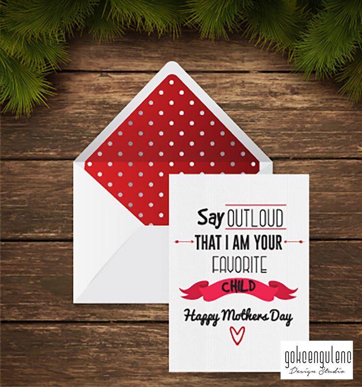 A personal favourite from my Etsy shop https://www.etsy.com/listing/275437018/printable-mothers-day-card-say-outloud