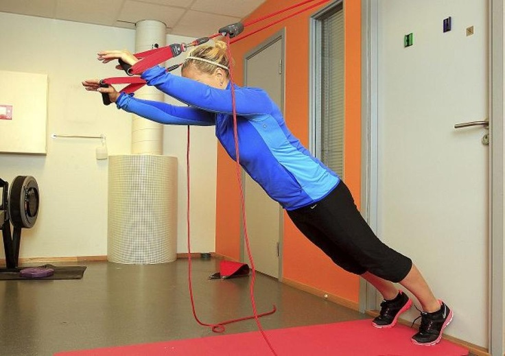 13 REDCORD øvelser for sterkere kjele!