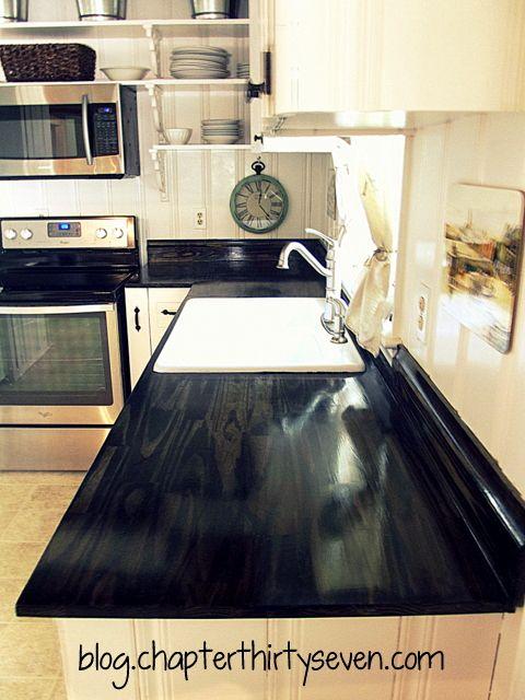 Best 25+ Diy Wood Countertops Ideas On Pinterest | Wood Countertops, Diy  Butcher Block Countertops And Inexpensive Kitchen Countertops
