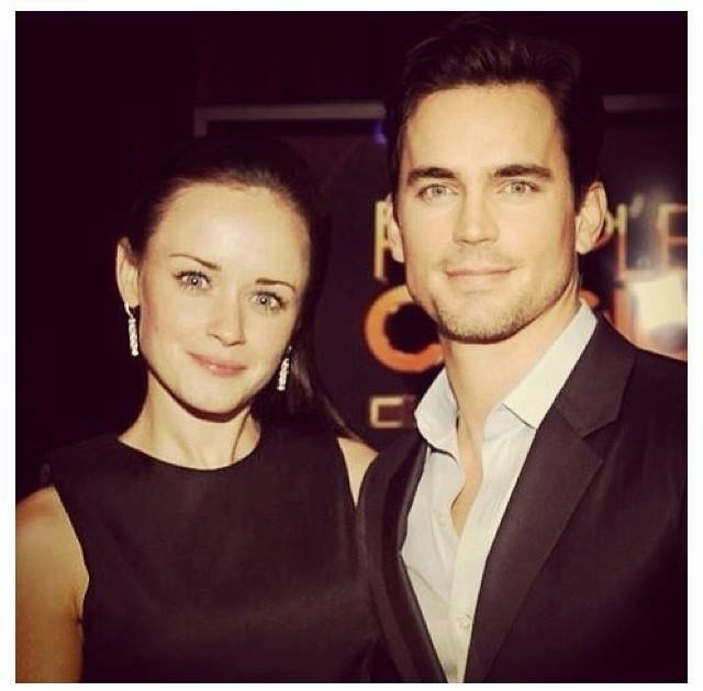 Alexis Bledel and Matt Bomer | TV | Pinterest | Alexis ...