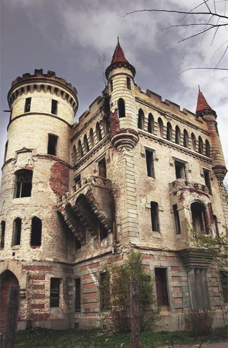 Abandoned Castle, Russia