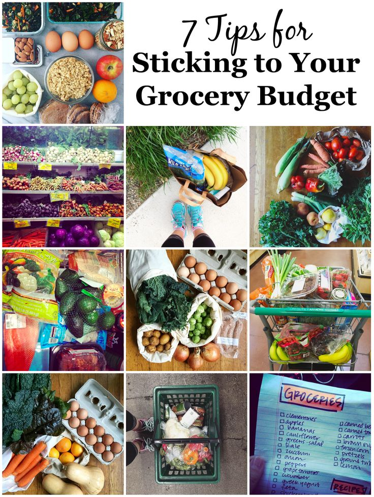 Back to Basics January: 7 Tips for Sticking to Your Grocery Budget