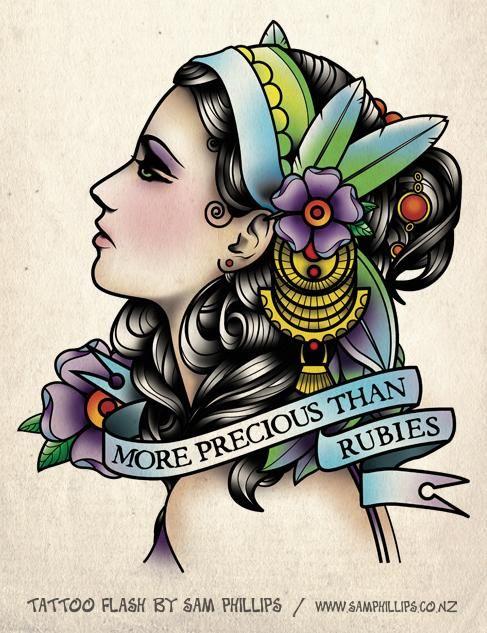 Gypsy Tattoo Idea