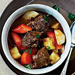 Guinness Lamb Stew Recipe | MyRecipes.com