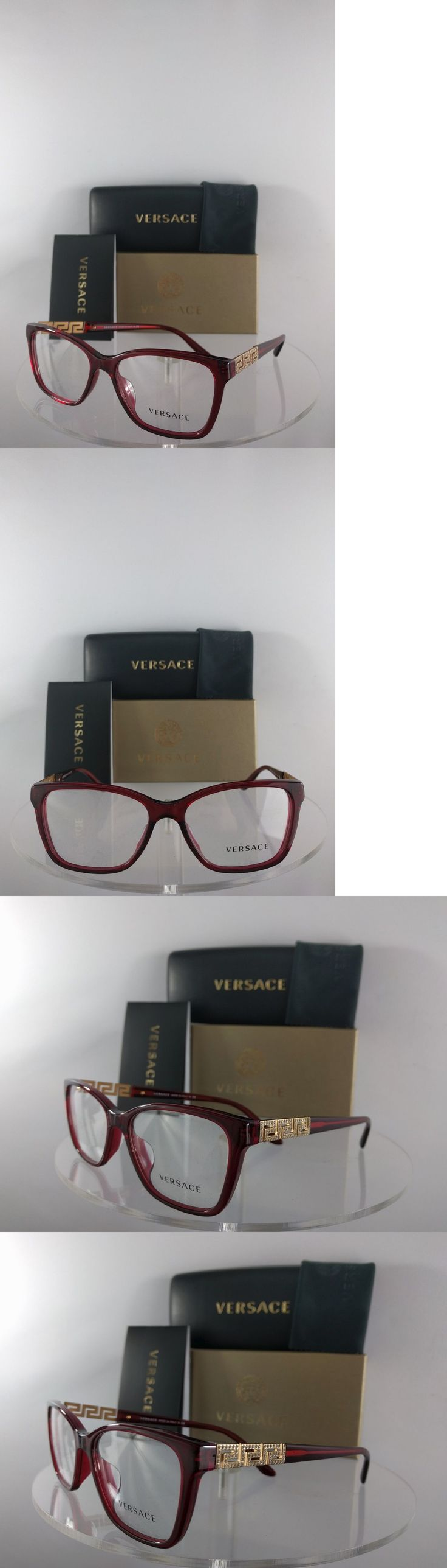 Eyeglass Frames: Brand New Authentic Versace Eyeglasses Mod. 3192-B 388 54Mm Frame BUY IT NOW ONLY: $94.99