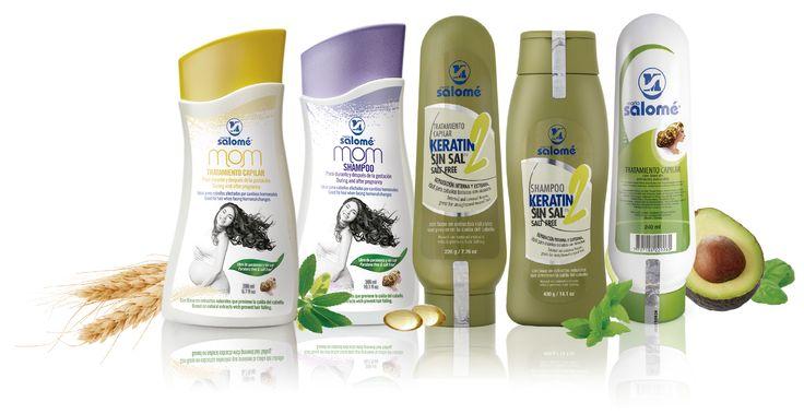 Para nutrir, reparar, humectar y dar brillo a tu cabello, María Salomé te ofrece los mejores productos elaborados con base en extractos naturales.