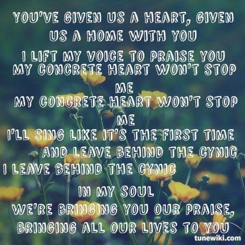 God of second chances lyrics