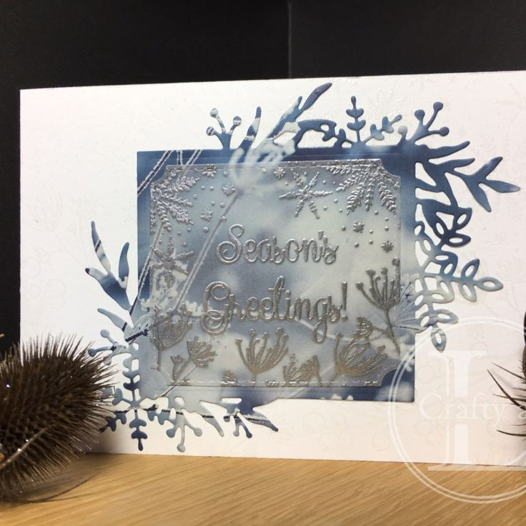 Feels Like Frost in 2020 Christmas catalogs, Card making