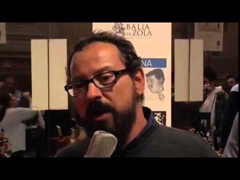 Claudio Fiore from Badia di Zola talks about award winner red wine Redinoce