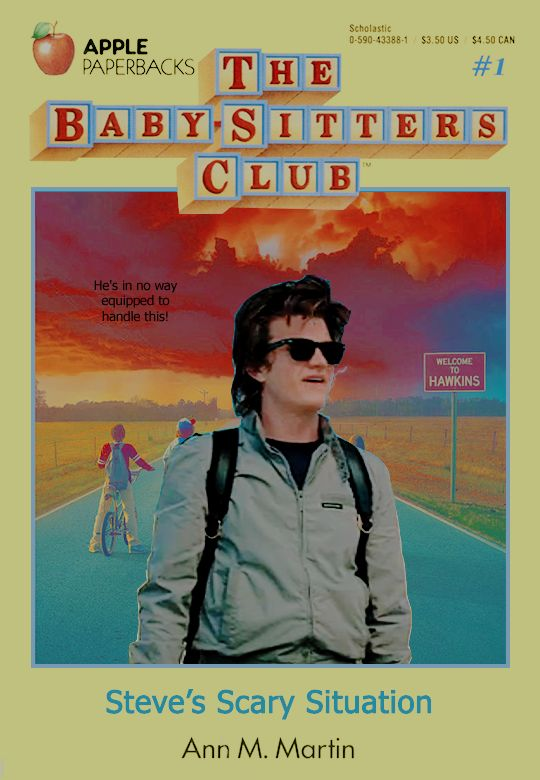 Steve Harrington in Stranger Things 2 - The Baby-Sitter's Club