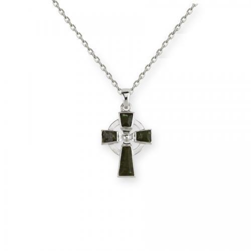 Brandon Connemara Marble Celtic Cross
