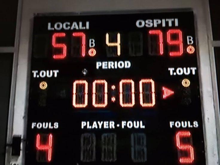 Basket Femminile Serie A1. Techmania Battipaglia- Acqua&Sapone Umbertide 57-79