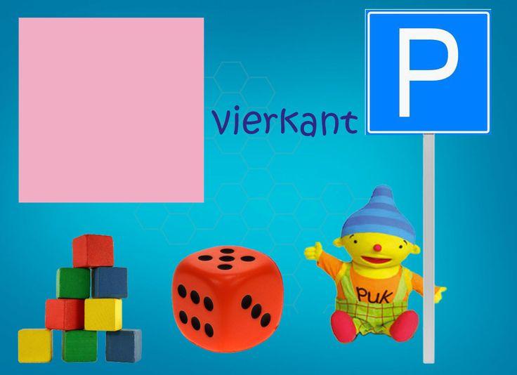 Vormen met Puk: vierkant.