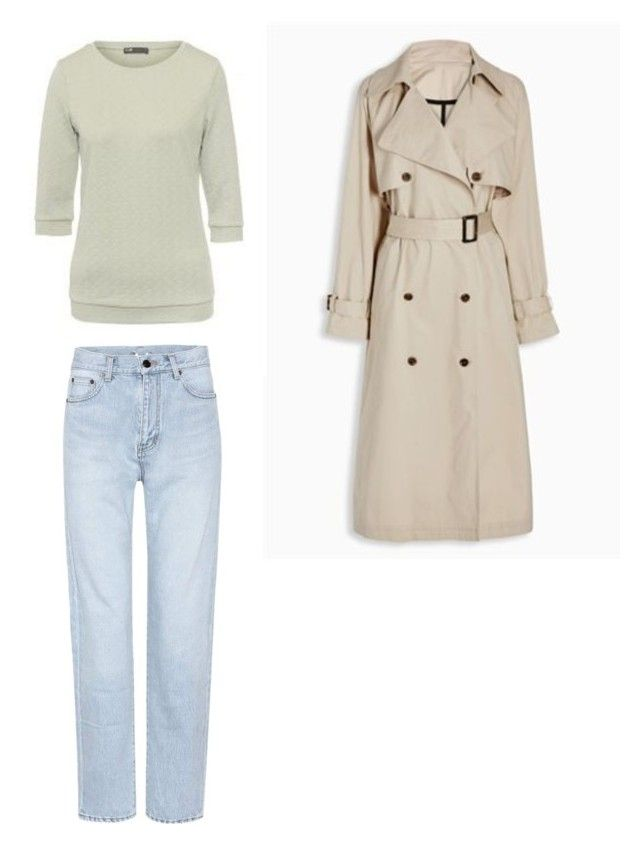"""Базовый сет 2"" by julia-tcherba on Polyvore featuring мода и Yves Saint Laurent"