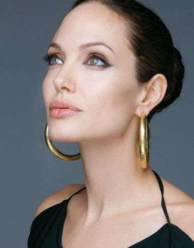 Angelina Jolie - I have always believed her to be the most beautiful woman in the whole world. I think this picture proves it!