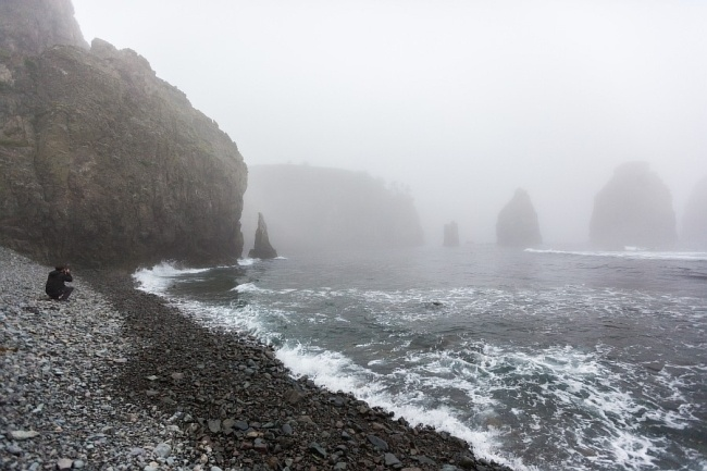 One of the islands disputed between Russian and Japan  #russia #japan #kuril