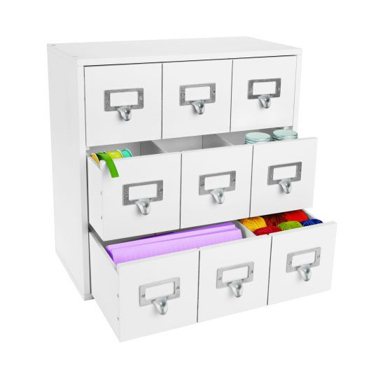 desktop storage drawer cube by recollections crafts michaels craft and scissors. Black Bedroom Furniture Sets. Home Design Ideas
