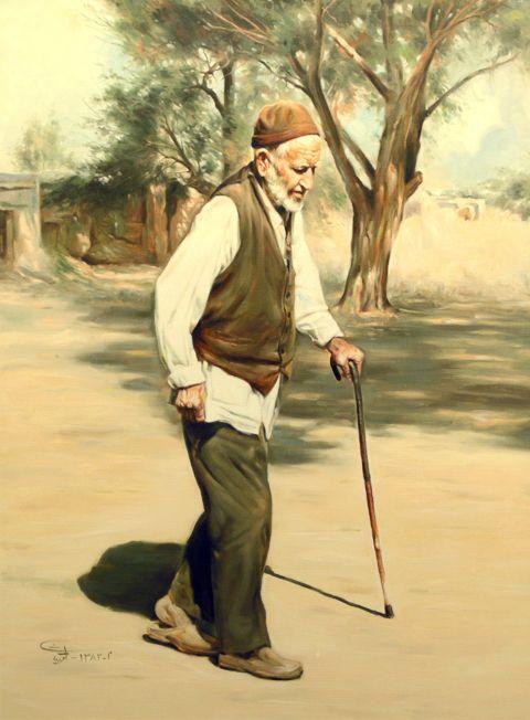 پیرمرد روستایی Rural Old Man