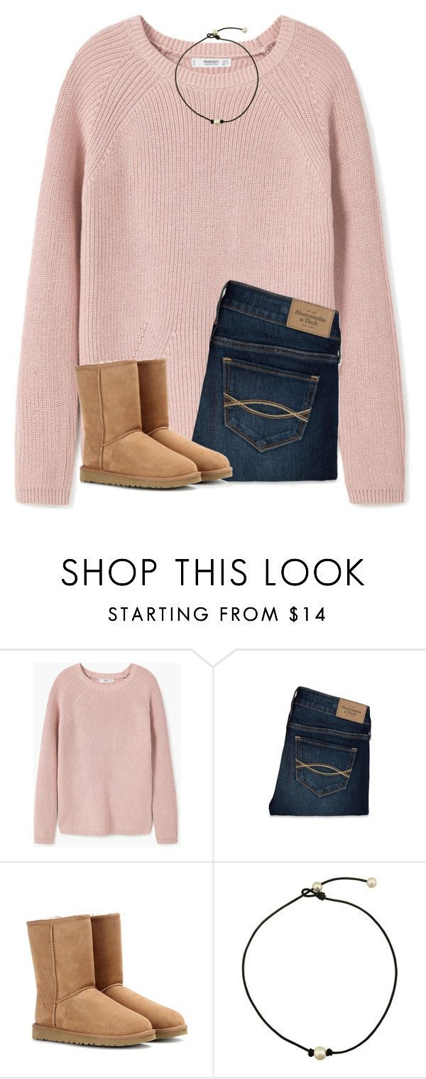 """wish it was cold enough so I could actually wear this!!"" by ponyboysgirlfriend ❤ liked on Polyvore featuring MANGO, Abercrombie & Fitch and UGG Australia"