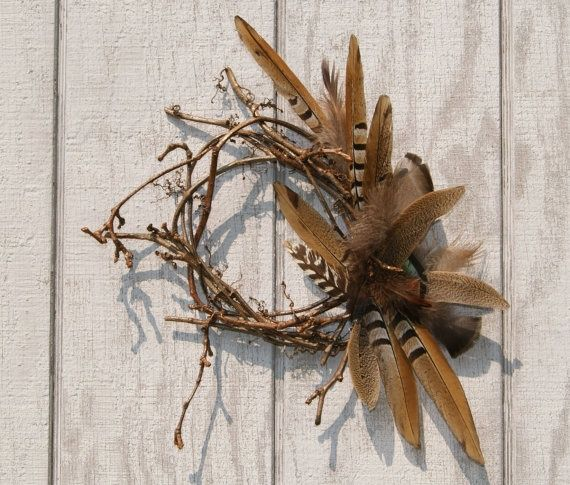 images about Wildlife wreaths Antler wreath