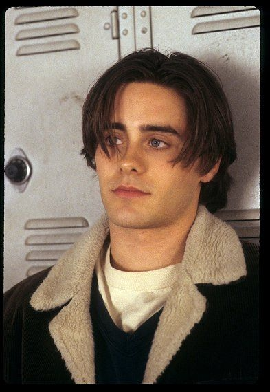 Jared Leto - The only constant with Jared Leto is his ever-changing hairstyles. In the nineties, we saw him sporting a bright white do in Fight Club and an unkempt bowl-cut in Girl, Interrupted. But, to us, he'll never outdo the perfectly shaggy hairstyle of My So-Called Life's Jordan Catalano. Man, could he wear a choker necklace.