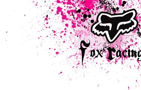 Fox Racing Wallpaper Pink