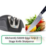 Do you want to use a small size knife sharpener which is easy for grip? If your answer is Yes, then you will have to select a nice looking sharpener.  The name of the knife sharpener is KitchenIQ 50009 Edge Grip 2 stage knife sharpener which can fulfill your basic requirements.