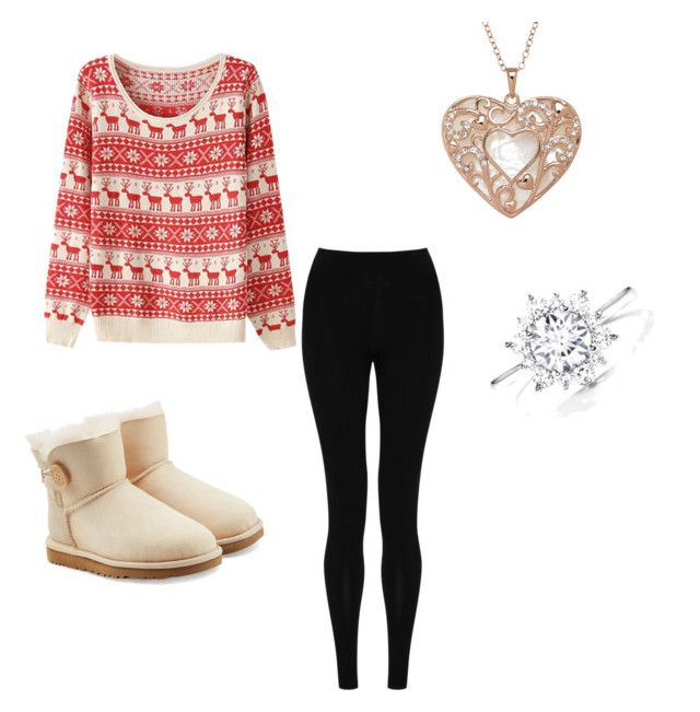 Untitled #21 by denisaonisie on Polyvore featuring polyvore fashion style M&S Collection UGG Australia