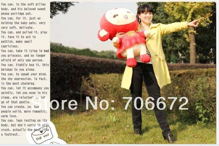 Чучела животных прекрасный обезьяна ПП хлопка большой 60 см красная юбка девушка обезьяна плюшевые игрушки около 23 дюймов обезьяна кукла подарок t6853