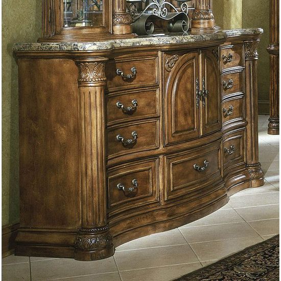 Aico Monte Carlo Bedroom Set Classic Pecan For The Home Pinterest Pecans Ps And Monte Carlo