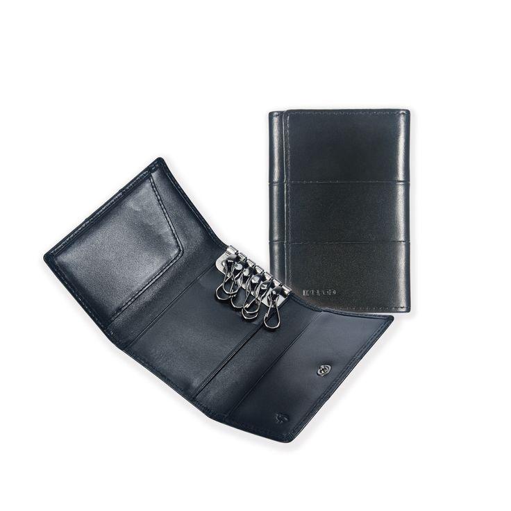 13 Tri-fold Key Wallet _ Black