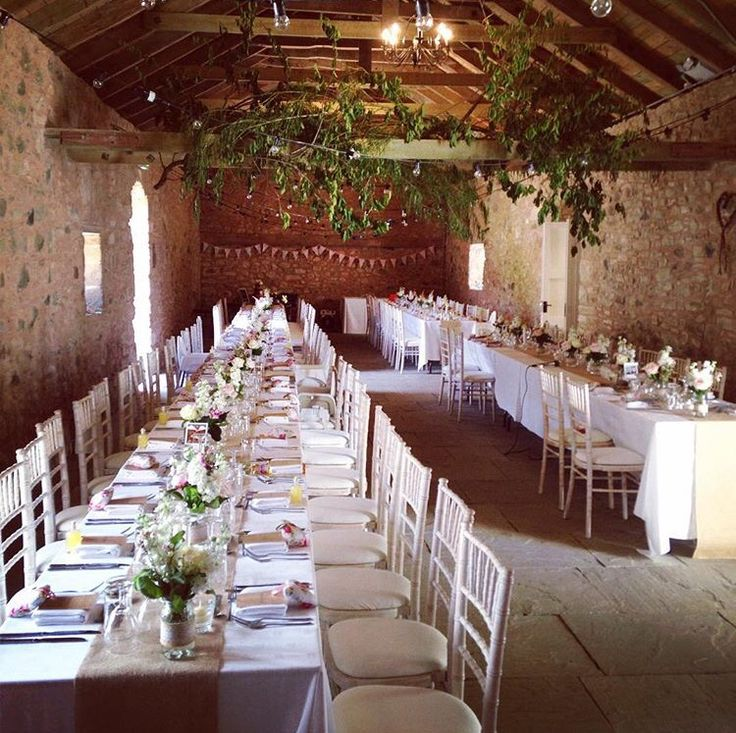 Wedderburn barns flowers hanging foliage vintage burlap scottish wedding #myrtleandbracken