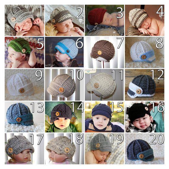Sombrero del muchacho del bebé casquillo del vendedor de