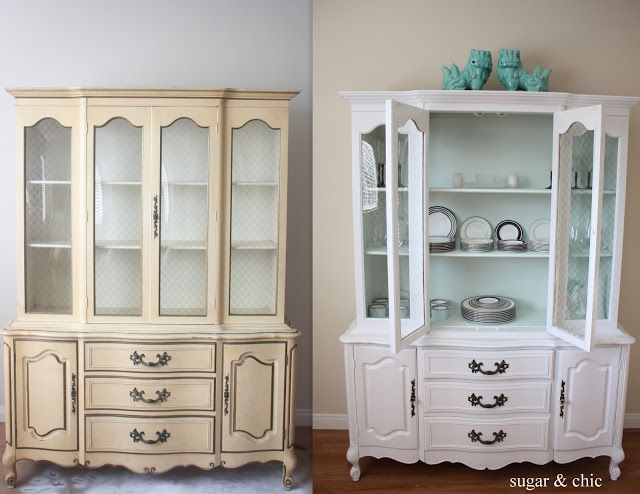 Best 25 hutch redo ideas on pinterest china hutch for Chinese furniture restoration