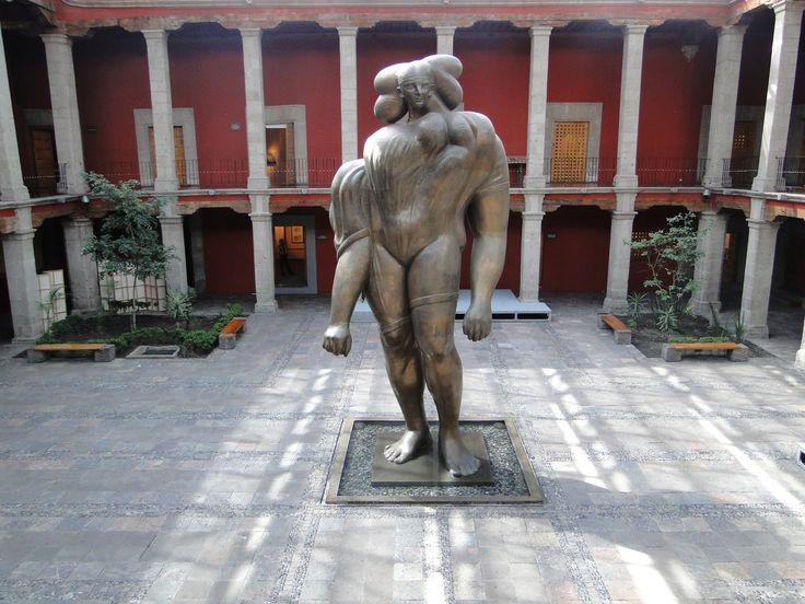 La Giganta - Jose Luis Cuevas - Museo Jose Luis Cuevas - Mexico City
