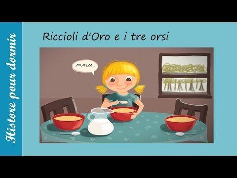 Riccioli dOro e i tre orsi - Storia della buonanotte per i bambini - YouTube